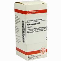 Abbildung von Nux Vomica D30 Tabletten 80 Stück