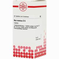 Abbildung von Nux Vomica D6 Tabletten 80 Stück
