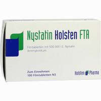 Nystatin Holsten Fta  Filmtabletten 100 Stück