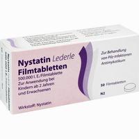 Nystatin Lederle  Filmtabletten 50 Stück