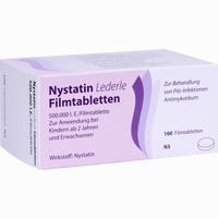 Nystatin Lederle  Filmtabletten 100 Stück