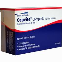 Ocuvite Complete 12 Mg Lutein  Kapseln 60 Stück