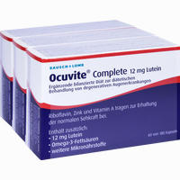 Ocuvite Complete 12 Mg Lutein  Kapseln 180 Stück