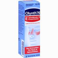 Olynth 0.1% N Schnupfen Dosierspray Ohne Konservierungsstoffe 10 ml