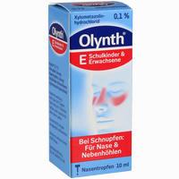 Olynth 0.1%  Nasentropfen 10 ml