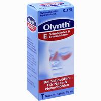 Olynth 0.1%  Nasentropfen 20 ml