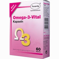Omega-3-vital Kapseln   60 Stück