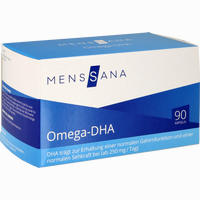 Abbildung von Omega- Dha Menssana Kapseln 90 Stück