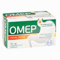 Abbildung von Omep Hexal 20mg Magensaftresistente Hartkapseln  14 Stück