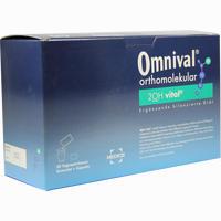 Omnival Orthomolekular 2oh Vital 30 Tp Gran+kaps.  Kombipackung 1 Packung