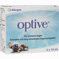Abbildung von Optive Augentropfen 3 x 10 ml