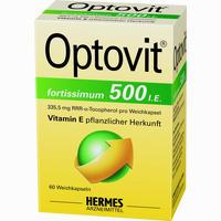 Abbildung von Optovit Fortissimum 500 Kapseln 60 Stück