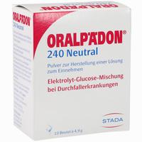 Oralpädon 240 Neutral Pulver  10 Stück