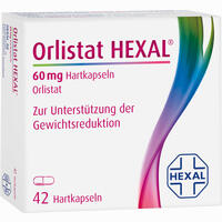 Abbildung von Orlistat Hexal 60mg Hartkapseln  42 Stück