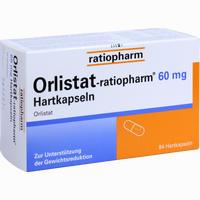 Abbildung von Orlistat- Ratiopharm 60 Mg Hartkapseln  84 Stück