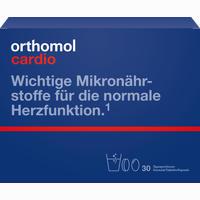 Abbildung von Orthomol Cardio Granulat+kapseln 30 Kombipackung 1 Stück