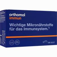 Abbildung von Orthomol Immun Direktgranulat Himbeer- Menthol  30 Stück