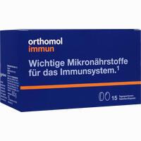 Orthomol Immun Tabletten/kapseln 15beutel  Kombipackung 1 Stück