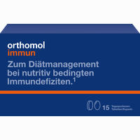 Abbildung von Orthomol Immun Tabletten + Kapseln Kombipackung  Orthomol 1 Stück