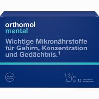Abbildung von Orthomol Mental Granulat+kapseln 15 Tagesportionen Kombipackung 1 Packung