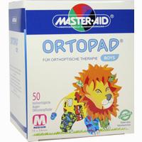 Ortopad For Boys Medium  Pflaster 50 Stück