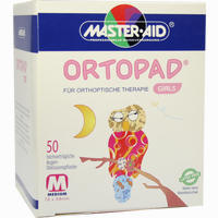 Ortopad For Girls Medium  Pflaster 50 Stück