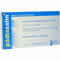 Pädiasalin Inhalationslösung   20 Stück