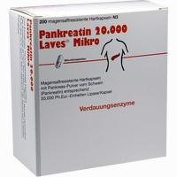 Abbildung von Pankreatin 20000 Laves Mikro Kapseln 200 Stück