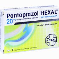 Abbildung von Pantoprazol Hexal bei Sodbrennen Tabletten 7 Stück