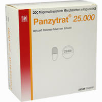 Abbildung von Panzytrat 25000 Kapseln 200 Stück