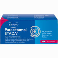 Abbildung von Paracetamol Stada 500mg Tabletten  20 Stück