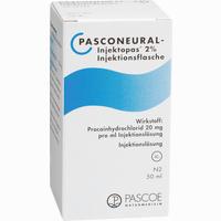 Pasconeural-injektopas 2%  Infusionslösung 50 ml