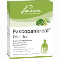 Abbildung von Pascopankreat Tabletten Filmtabletten 100 Stück