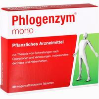 Abbildung von Phlogenzym Mono Tabletten 20 Stück