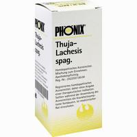 Phönix Thuja-lachesis Spag.  Tropfen 100 ml