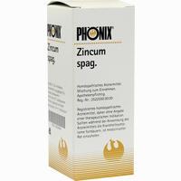 Phönix Zincum Spag.  Tropfen 50 ml