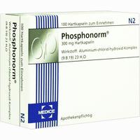 Abbildung von Phosphonorm Kapseln  1 x 100 Stück
