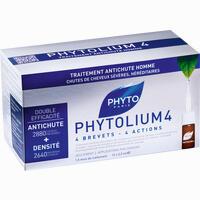 Phyto Phytolium 4 Kur Anti-haarausfall Für Männer Ampullen 12X3.5 ml
