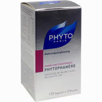 Abbildung von Phytophanere Nahrungsergänzung Haare + Nägel Kapseln 120 Stück