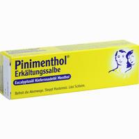 Pinimenthol Erkältungssalbe  20 g