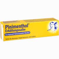 Pinimenthol Erkältungssalbe  50 g