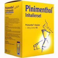 Pinimenthol Inhalierset + 100g Creme Kombipackung 1 Stück