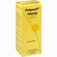 Abbildung von Polysept Lösung  100 ml