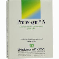 Proteozym N  Dragees 20 Stück