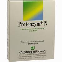 Proteozym N  Dragees 50 Stück