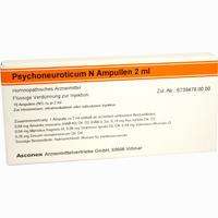 Abbildung von Psychoneuroticum N Ampulle Ampullen 10 x 2 ml
