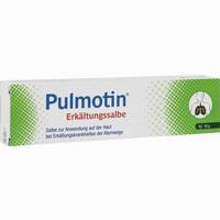Abbildung von Pulmotin Erkältungssalbe 50 g