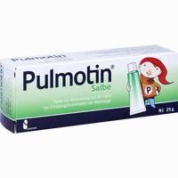 Abbildung von Pulmotin Salbe  25 g