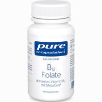 Abbildung von Pure Encapsulations B12 Folate Kapseln 90 Stück