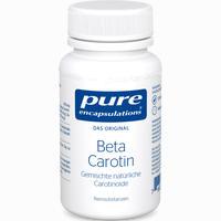 Abbildung von Pure Encapsulations Beta Carotin Kapseln 30 Stück